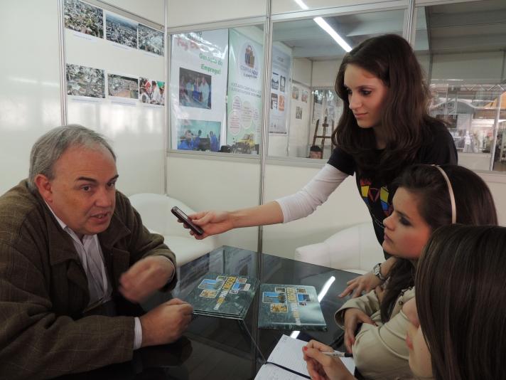 Entrevista com o vice-prefeito