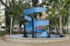 Monumento ao Voluntariado na Festa do Sapato em CampoBom