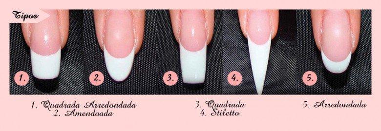 estilos de unhas
