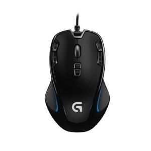 Mouse com Fio Logitech G300S Gamer USB 2500dpi